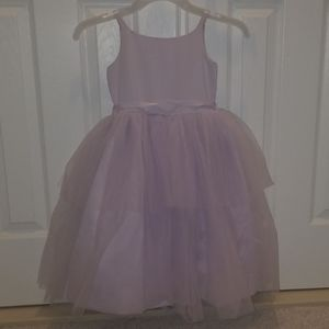 Girls Formal lavendar dress
